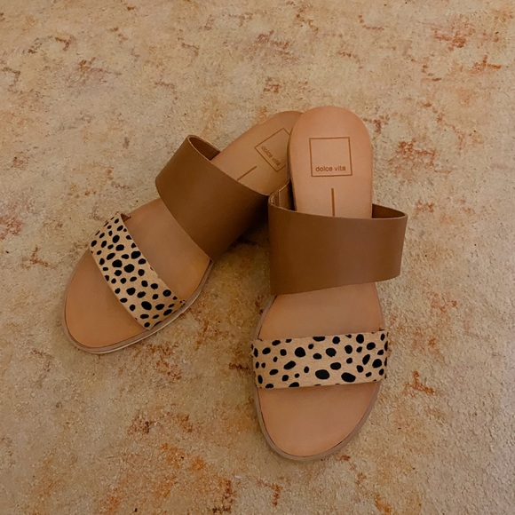 Leopard Print Dolce Vita Sandals